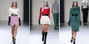 María Barros Mercedes Benz Fashion Week Madrid Fall 2012/13