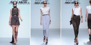 María Barros Mercedes Benz Fashion Week Madrid Spring 2013