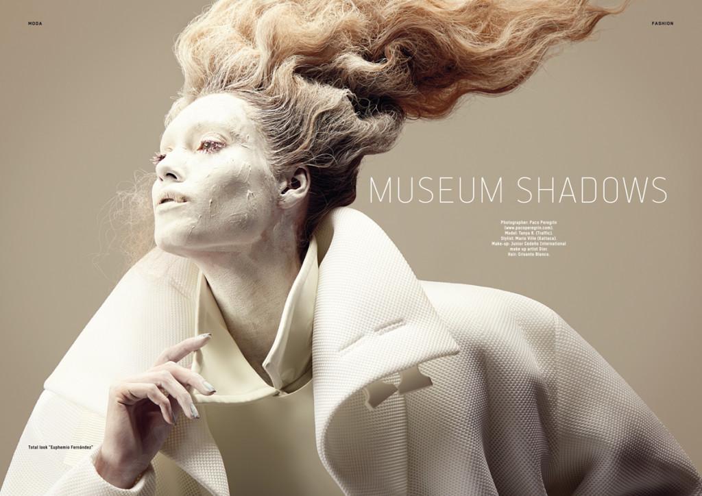 Museum Shadows. Divo Magazine, November 2015 issue.