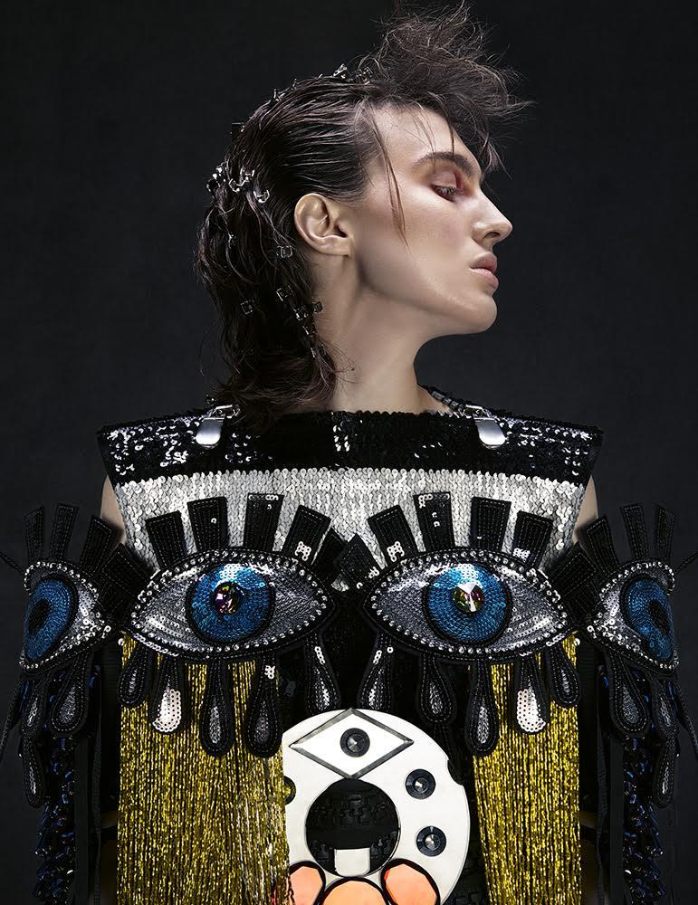 Model: Claudia Gago.Date of shoot/Location: April 22, 2016/Madrid (Spain).